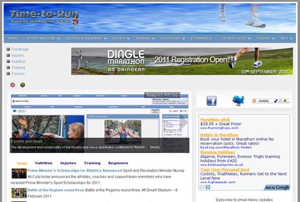Time-to-Run.com - Running Information